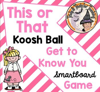 This or That Koosh Ball Wack-a-Mole Get to Know You Game