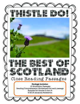 Thistle Do! The Best of Scotland: Close Reading Comprehens