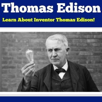 Thomas edison for kids powerpoint presentation