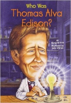 Thomas Edison Reading Guide (Common Core Aligned)