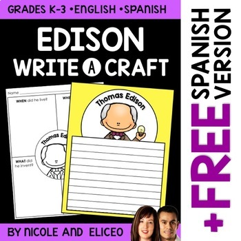 Thomas Edison Inventor Craft