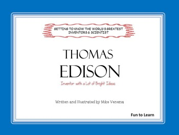 Thomas Edison      by Mike Venezia