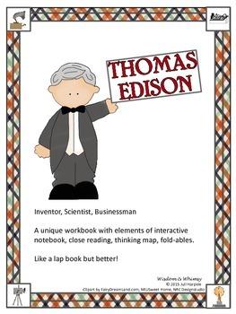 Thomas Edison inventor, businessman
