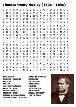 Thomas Henry Huxley Word Search