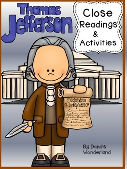 Thomas Jefferson Reading Passages and Activities