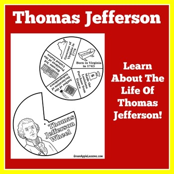 Thomas Jefferson Activity | Thomas Jefferson Craft | Ameri
