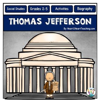 Thomas Jefferson - Reading Passages, Activities, & Flip Book