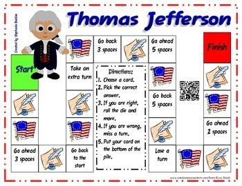 Thomas Jefferson Game