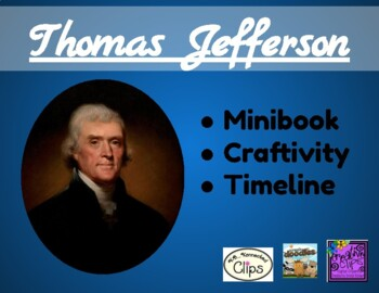 Thomas Jefferson: Non fiction mini-book and writing craftivity