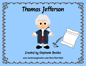 Thomas Jefferson Unit - Social Studies