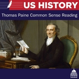Thomas Paine Common Sense and Questions