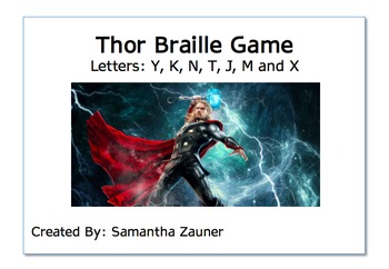 Thor Braille Game