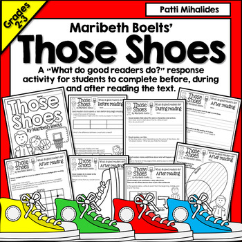 Those Shoes by Maribeth Boelts: a Reading Response Activit