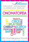 Thought-Provoking Classroom Display - ONOMATOPEIA