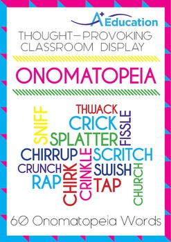 Thought-Provoking Classroom Display - ONOMATOPEIA