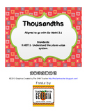 Thousandths (Go Math Grade 5 Lesson 3.1)