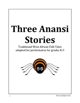 Three Anansi Stories