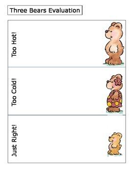 Three Bears Evaluation