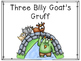 Three Billy Goat's Gruff Activities