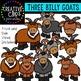 Three Billy Goats {Creative Clips Digital Clipart}