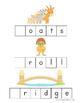 Three Billy Goats Gruff Letter Tiles Spelling Mat