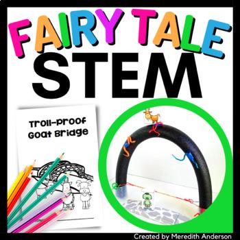 Three Billy Goats Gruff STEM Activity - Design a Troll-Pro