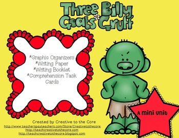 Three Billy Goats Gruff Unit~ Includes Graphic Organizers