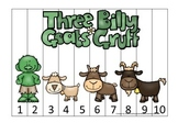 Three Billy Goats Gruff themed Number Sequence Puzzle educ