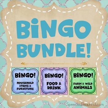 Three Bingo Products in One {BUNDLE}