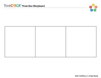 Three Box Storyboard- Graphic Organizer