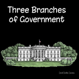 3 Branches of Government Reading and Activity