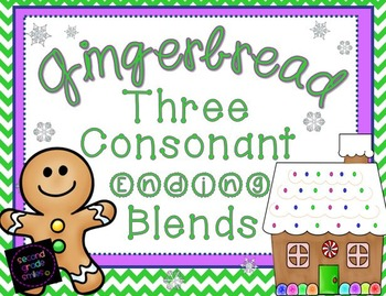 Three Consonant Ending Blends (tch and nch)