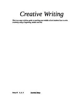 Three Creative Writing ideas