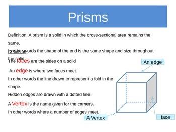 Three Dimensional Objects