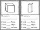 Three-Dimensional Shape Booklet