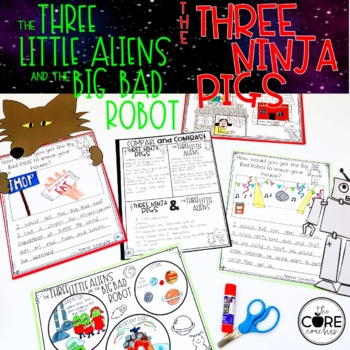 Three Little Aliens and Little Pigs Compare and Contrast R