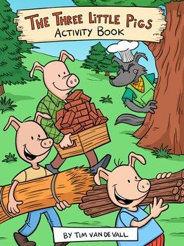 Three Little Pigs Activity Book & Common Core Units