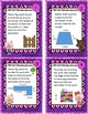 Three Little Pigs Area and Perimeter Task Card ~ Math Center