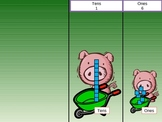 Three Little Pigs Base Ten Lesson PowerPoint
