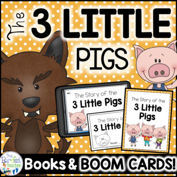Three Little Pigs Emergent Reader