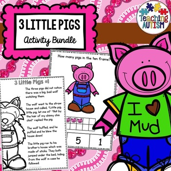 3 Little Pigs Activity Bundle