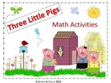 Three Little Pigs Math Activities