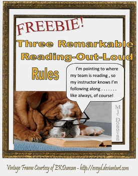 Three Remarkable Reading-Out-Loud Rules