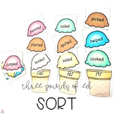 Three Sounds of the Suffix -ed ( /id/ /d/ /t/ ) Ice Cream