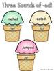 Three Sounds of the Suffix -ed ( /ed/ /d/ /t/ ) Ice Cream