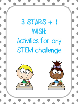 Three Stars + 1 Wish: STEM Reflection Sheets