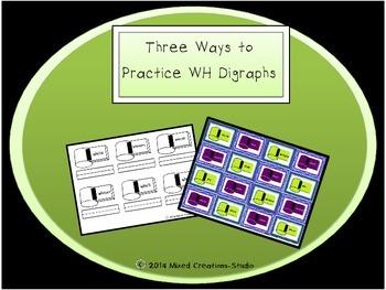 WH Practice Three Ways!