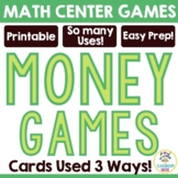Money Card Games - Matching and Comparing