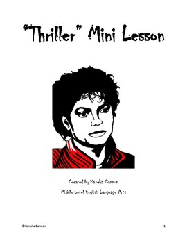 Thriller Mini Lesson