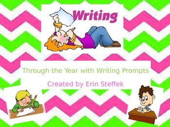 Through The Year With Writing Prompts